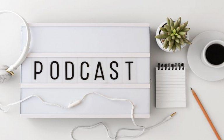 Podcasty kryminalne - baner.